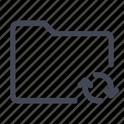 directory, folder, saving, syncing icon