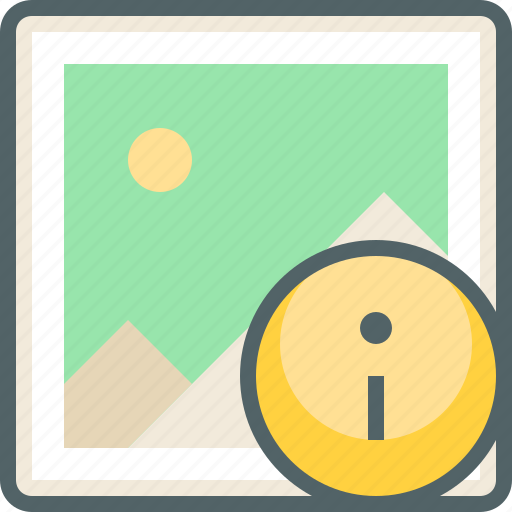 gallery, help, image, info, infomation, photo, support icon
