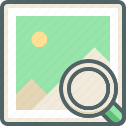 find, galleery, image, magnifier, photo, search, zoom icon