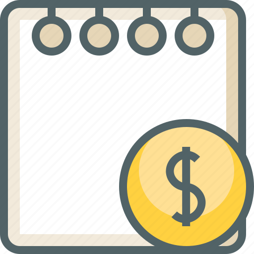 currency, dollar, finance, money, note, paper, payment icon