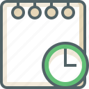 alarm, clock, document, note, paper, time, timer icon