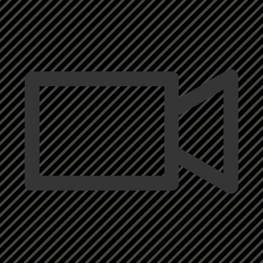 camera, cinema, media, movie, ui, video icon