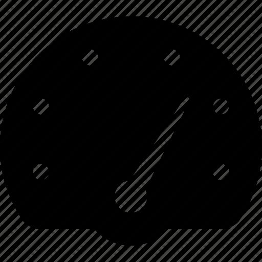 dashboard, gauge, metric, percentage, range icon