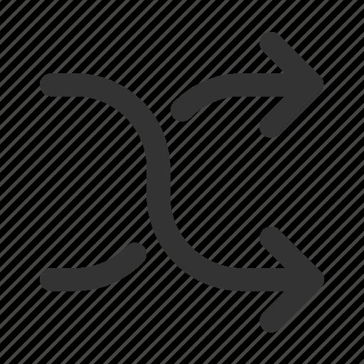 arrows, change, direction, exchange, mix, shuffle, swap icon