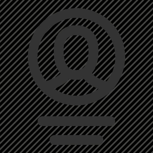 account, description, login, person, profile, user, user info icon