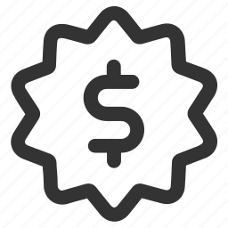 currency, dollar, earnings, finance, income, money, star icon