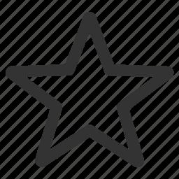 bookmark, favorite, favorites, favourite, favourites, star, top icon