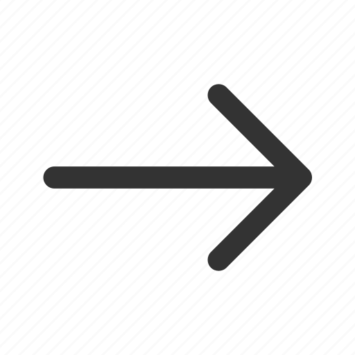 arrow, continue, direction, forward, move, next, right icon