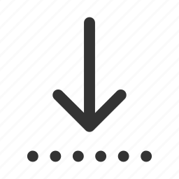 arrow, direction, down, download, guardar, move, save, save as icon