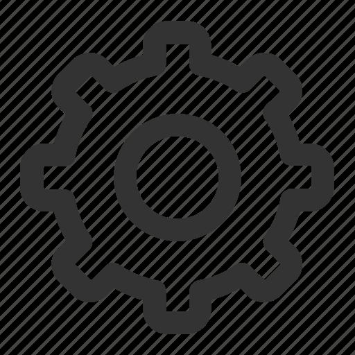 cog, configure, gear, optimization, options, productivity, settings icon
