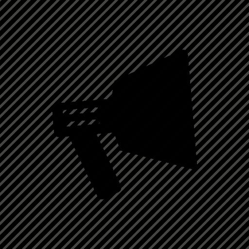announcement, megaphone, news, sound icon