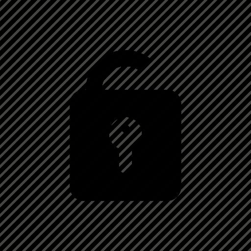 lock, protect, safety, unlock, unlocked icon