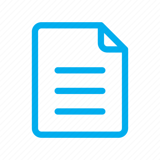 Document, file, line, ui icon - Download on Iconfinder