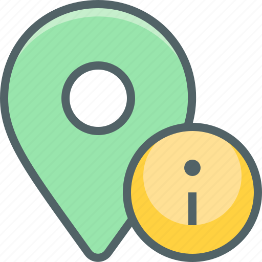 direction, help, info, infomation, location, navigation, support icon