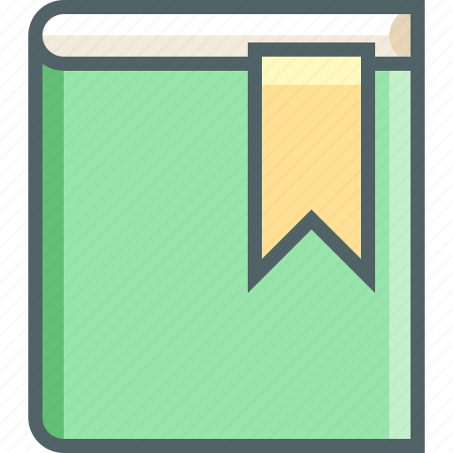 book, bookmark, education, favourite, like, notebook, reading icon