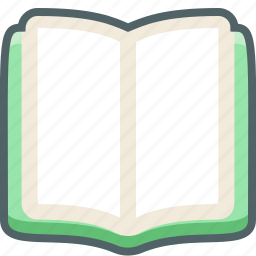 book, education, learning, notebook, open, read, study icon
