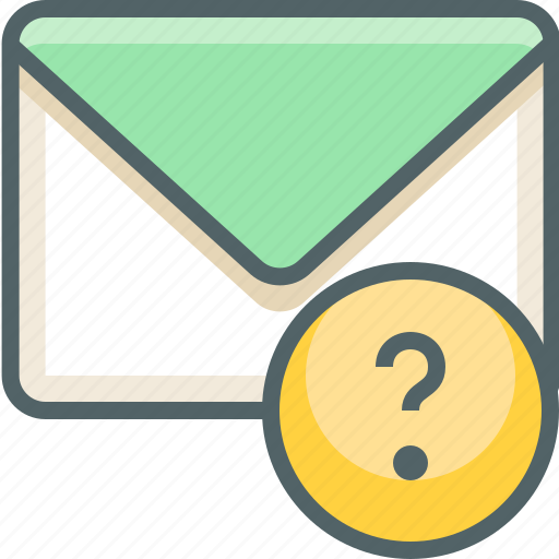 email, help, inbox, mail, question, service, support icon