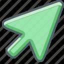 click, clicking, cursor, interactive, mouse, point, pointer icon