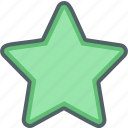 achievement, award, bookmark, favorite, like, shape, star icon