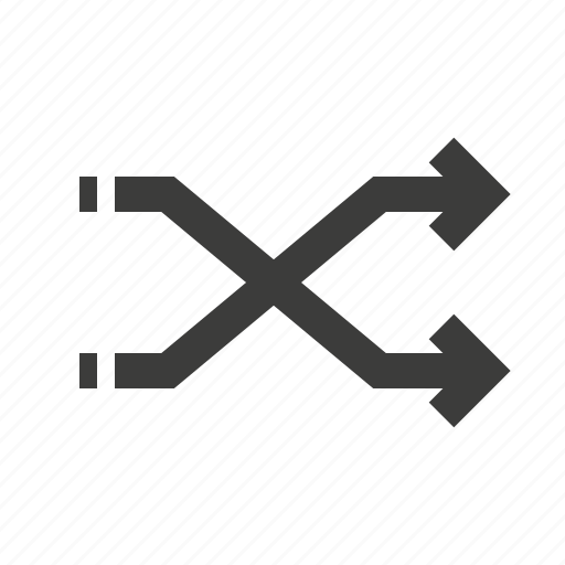 arrows, cross, direction, forward, next, right icon