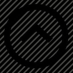 arrow, arrows, direction, top, up, upload, upward icon