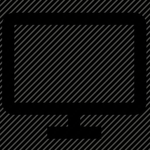 computer, display, imac, monitor, offline, screen, tv icon