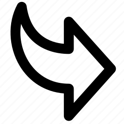 arrow, arrows, extract, forward, next, right, rightward icon
