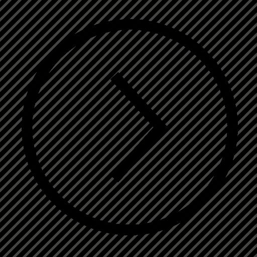 arrow, arrows, direction, move, next, right, rightward icon