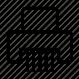 cut, cutter, cutting, paper, sheet, shred, shredder icon