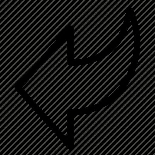 arrow, arrows, back, direction, left, move, navigation icon