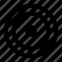 target, ui, web icon
