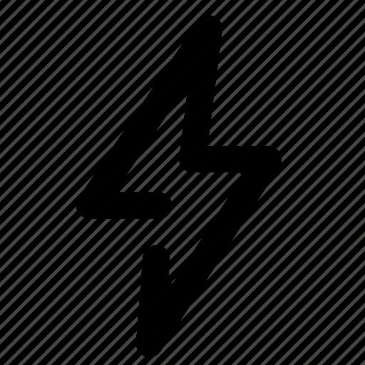 activity, bolt, energy, lightbolt, log, notification, power icon