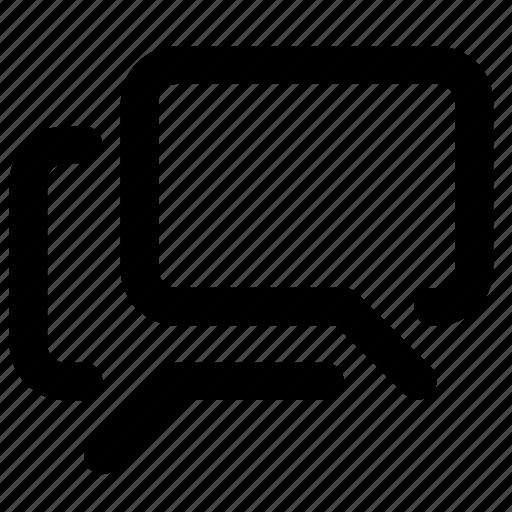 bubble, chat, conversation, discuss, message, talk, text icon