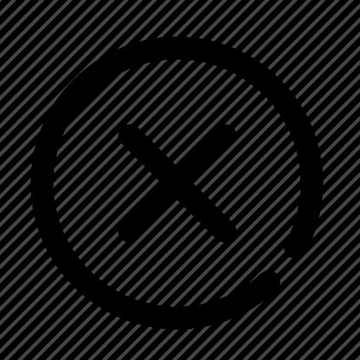 bad, conflict, delete, erase, error icon