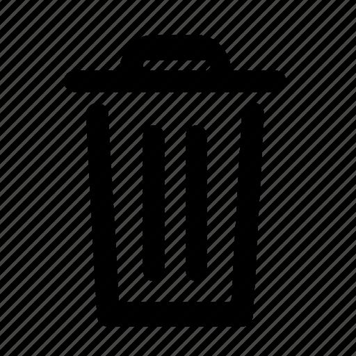 bin, delete, erase, garbage, trash, waste icon