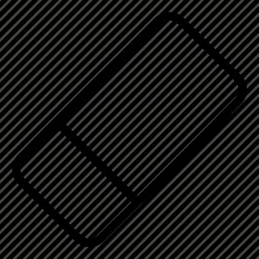 delete, erase, eraser, remove icon