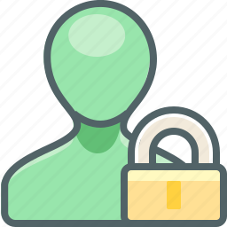account, lock, profile, protection, safe, security, user icon