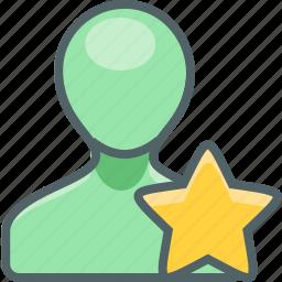 account, bookmark, favorite, like, profile, star, user icon