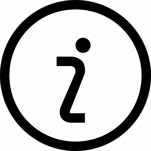 circle, information, question, sign icon