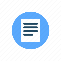 document, files, page, paper, sheet, text icon