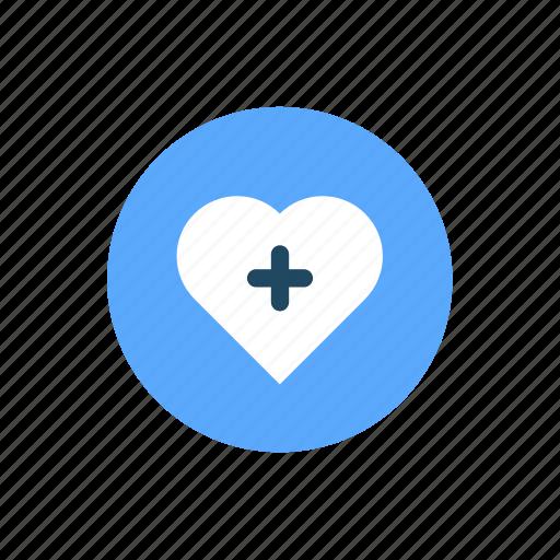 bookmark, favorites, heart, like, love, plus icon