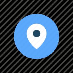 location, map, navigation, pin, pointer, wayfinder icon