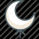 arrow, moon, up, direction, forecast, navigation