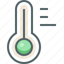cold, forecast, hot, temperature, thermometer, weather icon