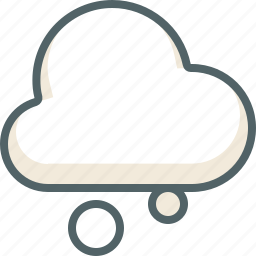 cloud, clouds, cloudy, forecast, snow, weather, winter icon