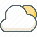 cloud, sun, weather, clouds, cloudy, forecast, morning