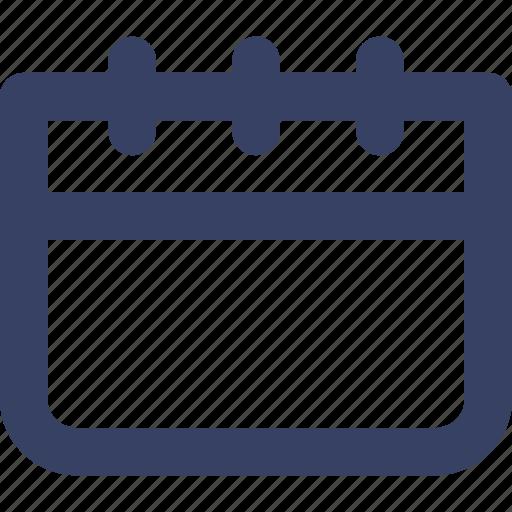 app, calendar, data, day, ui, web, week icon