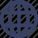 adress, app, globe, ui, web, world icon