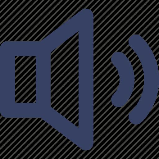 app, loud, music, speaker, ui, web icon