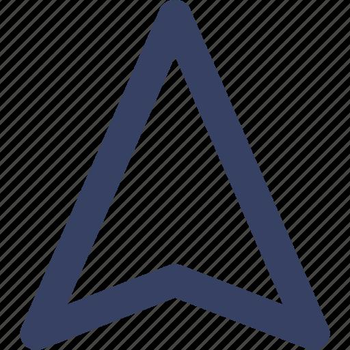 app, arrow, navigation, ui, way, web icon